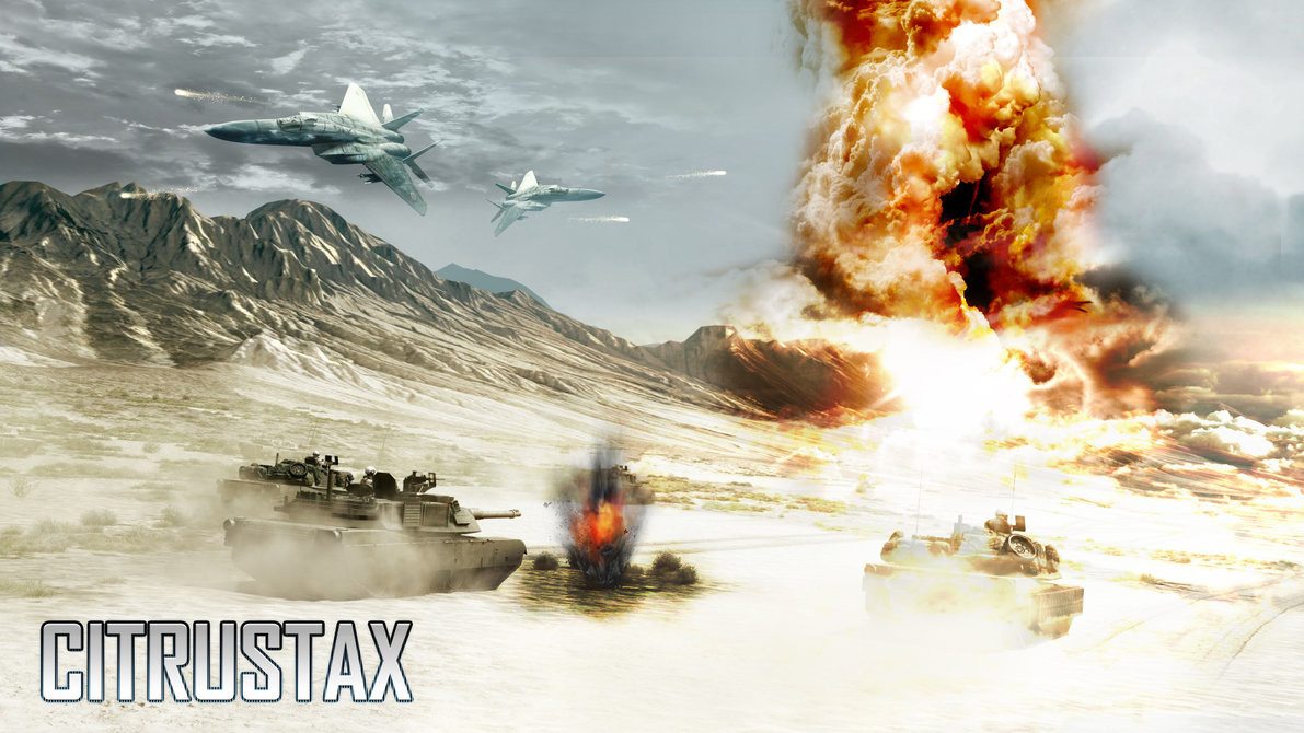 Battlefield 3 wallpaper 1080p Nuclear bomb by PixelDesignNL on 1191x670
