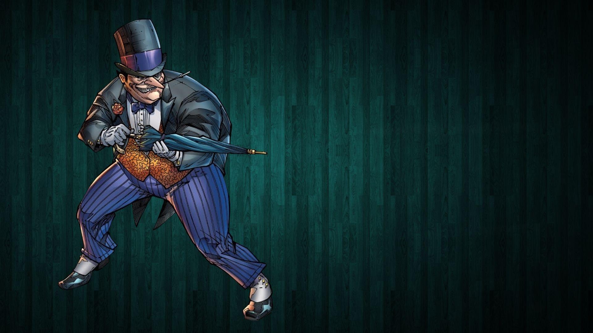 The Penguin with his umbrella   Batman HD desktop wallpaper 1920x1080