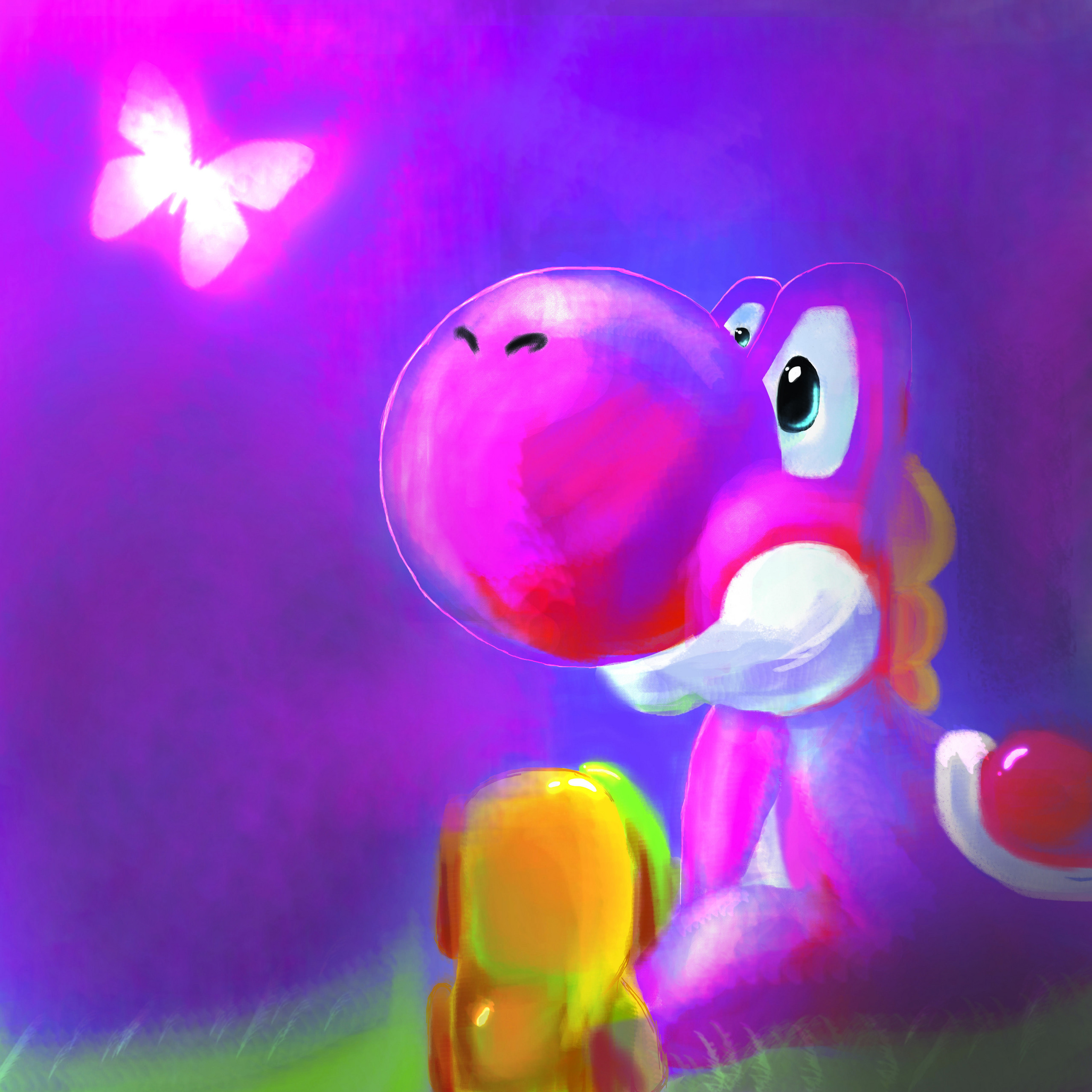 yoshi and birdo fan art fanpop fanclubs hd wallpaper Car Pictures 2560x2560