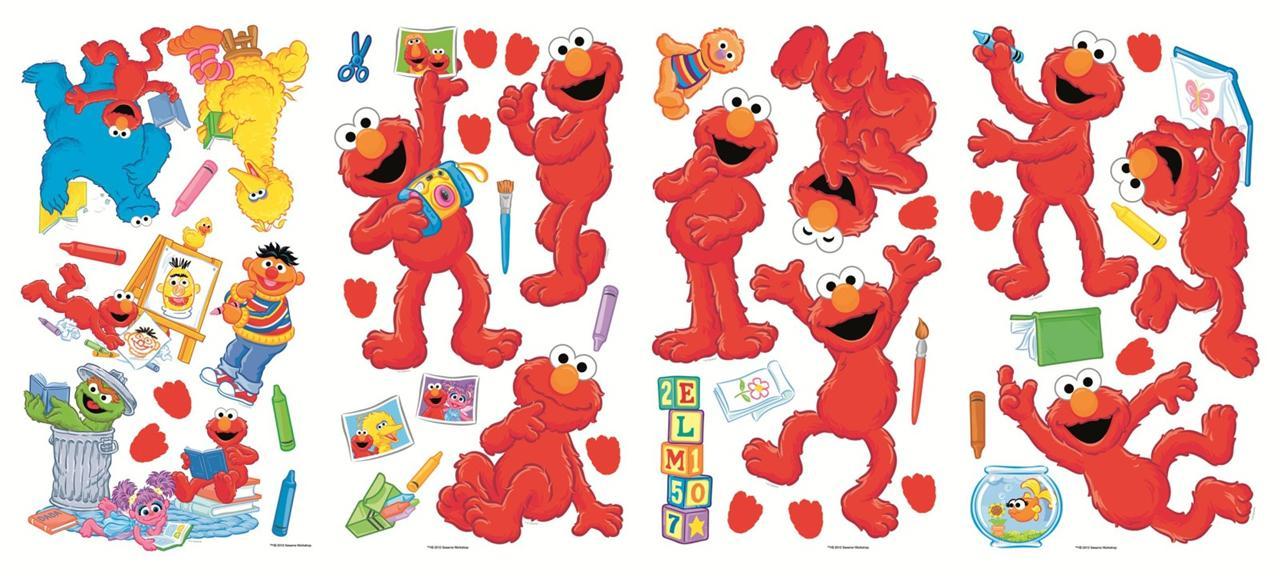 Sesame Street Wallpaper Border