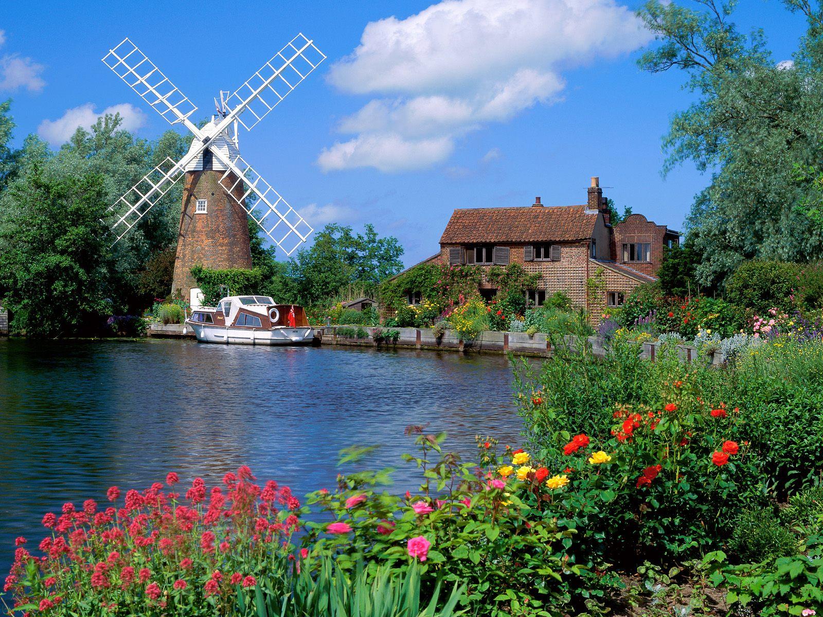 Hunsett Mill England Wallpapers HD Wallpapers 1600x1200