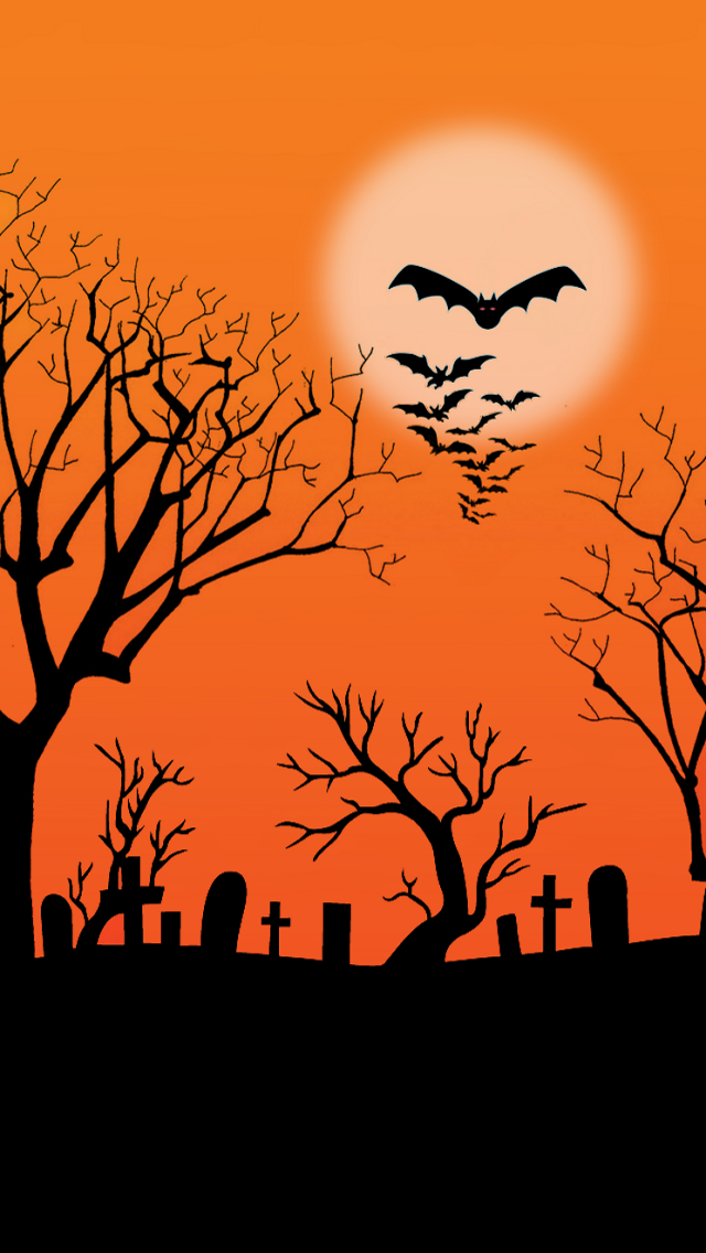 Free Download Halloween Background The Iphone Wallpapers