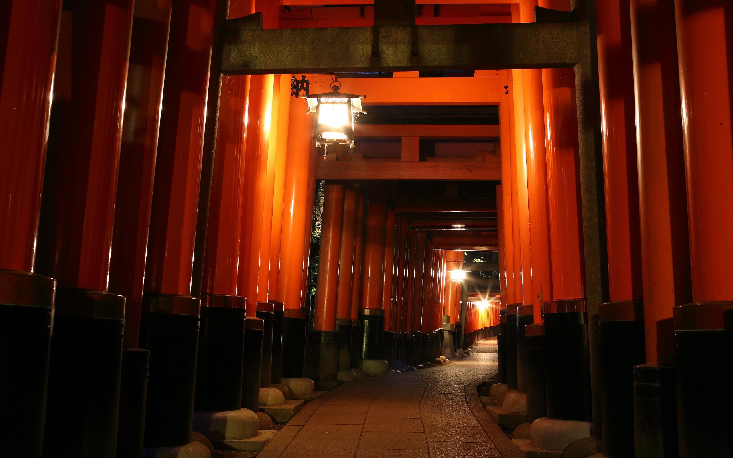 Fushimi Inari Taisha HD Wallpaper Background Image 2560x1600 2560x1600