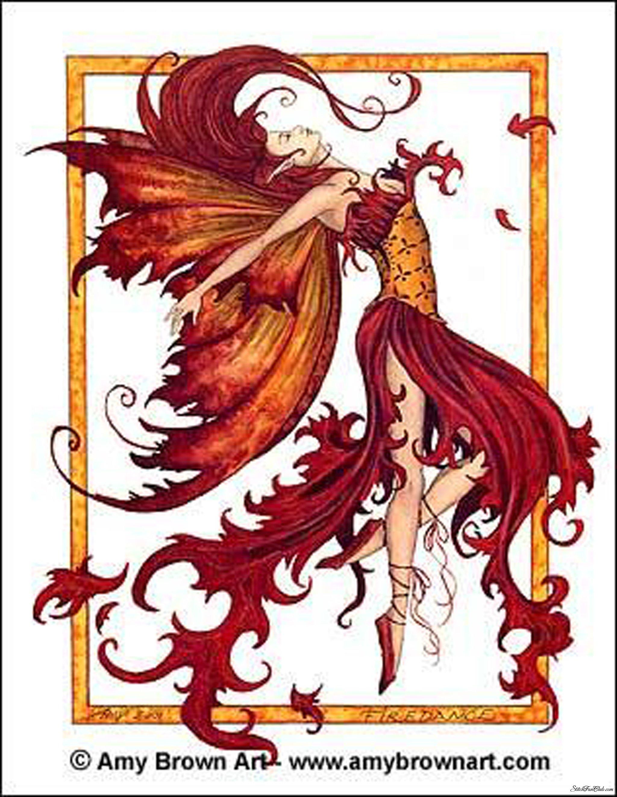 Fire Dance   Amy Brown Fairyland Pinterest 2048x2644