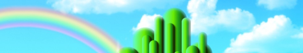 cropped emerald city wallpaper the wizard of oz 5276005 1024 768 1jpg 980x174