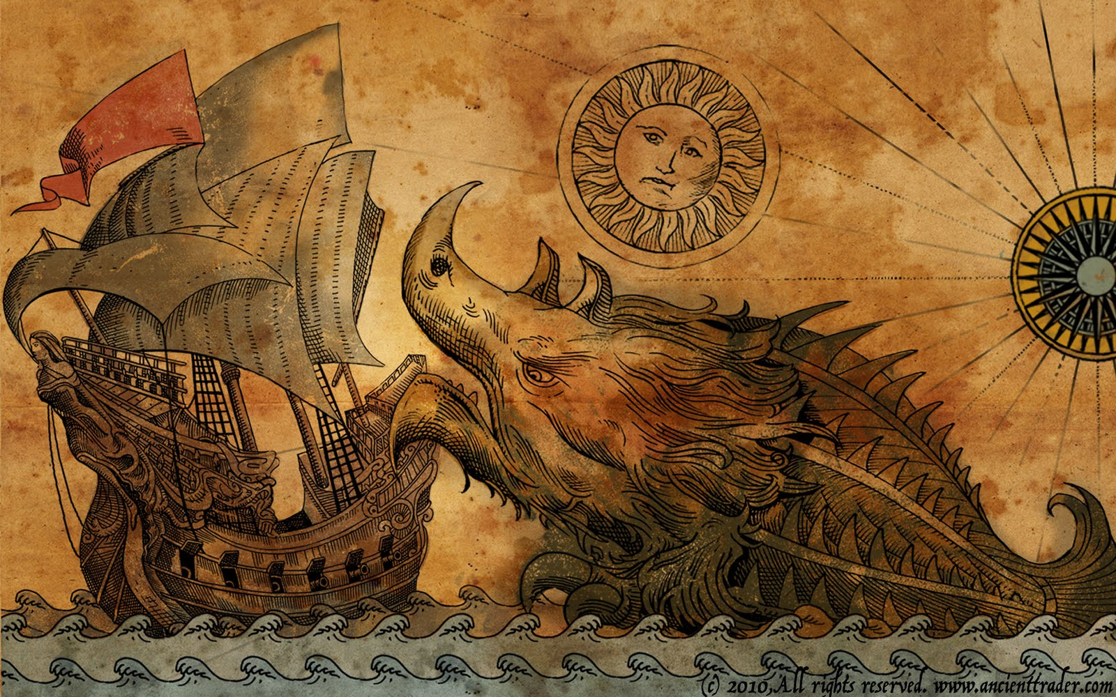Super Punch Ancient sea monsters 1600x1000