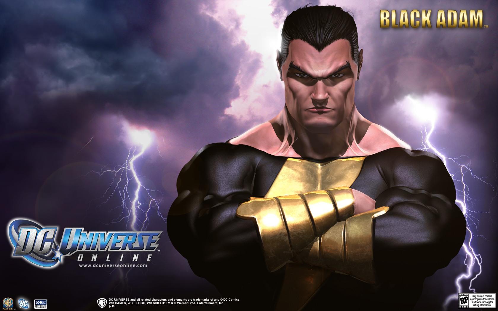 DC Universe Online   Black Adam desktop wallpaper 1680x1050