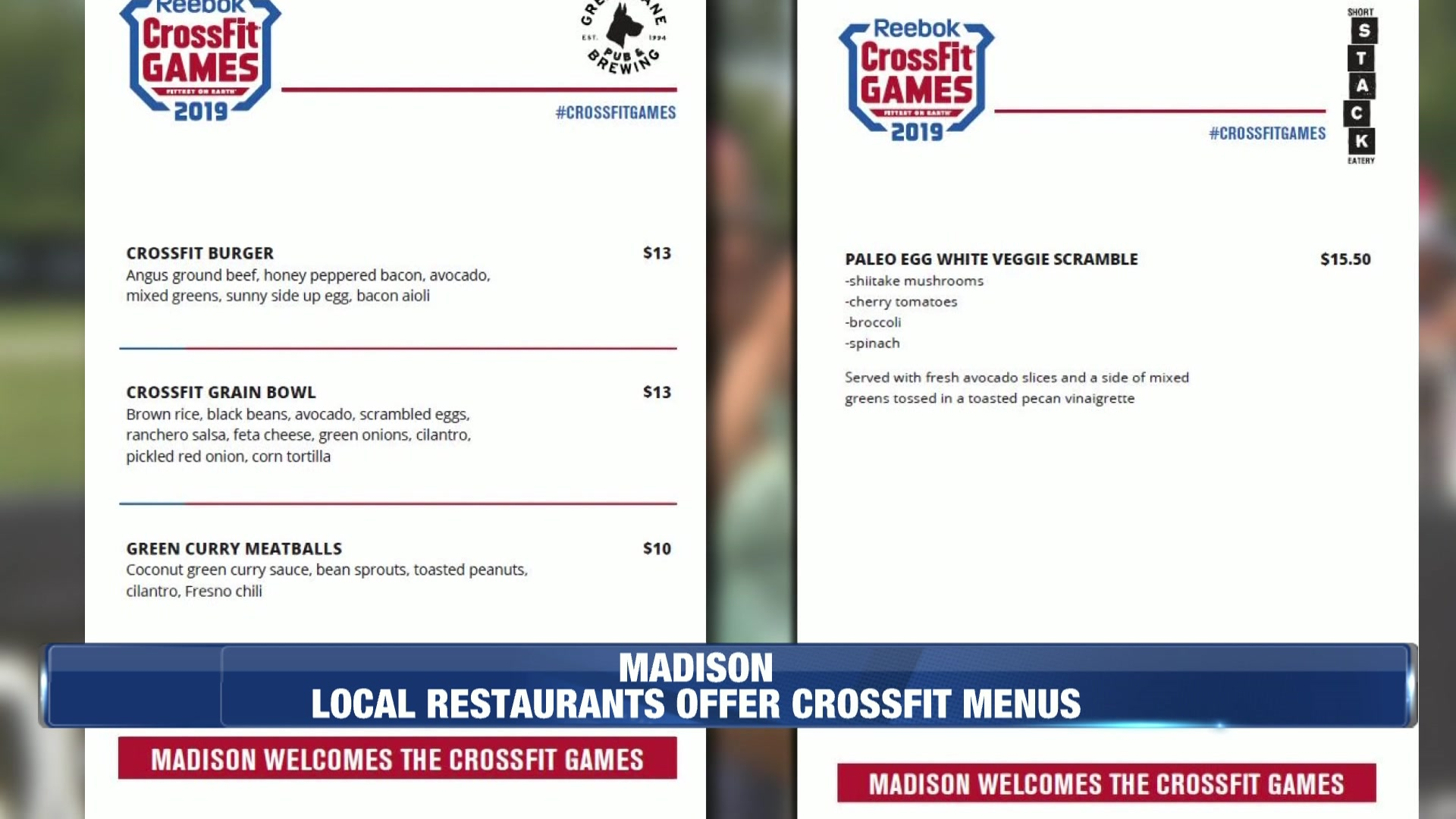 Local restaurants offer special menus for CrossFit Games 1920x1080