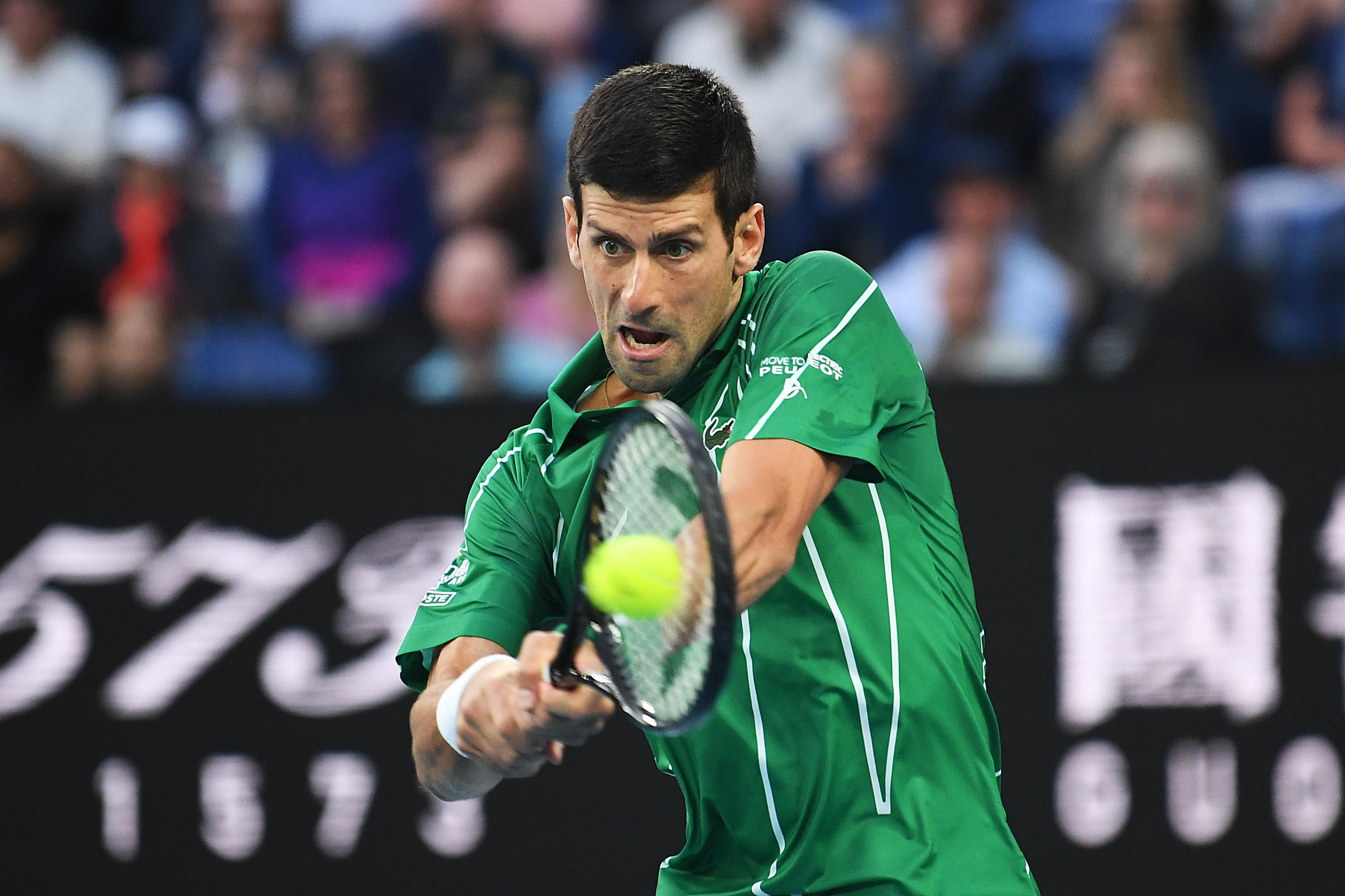 Novak Djokovic Defeats Milos Raonic Advances to 2020 Australian 3072x2048