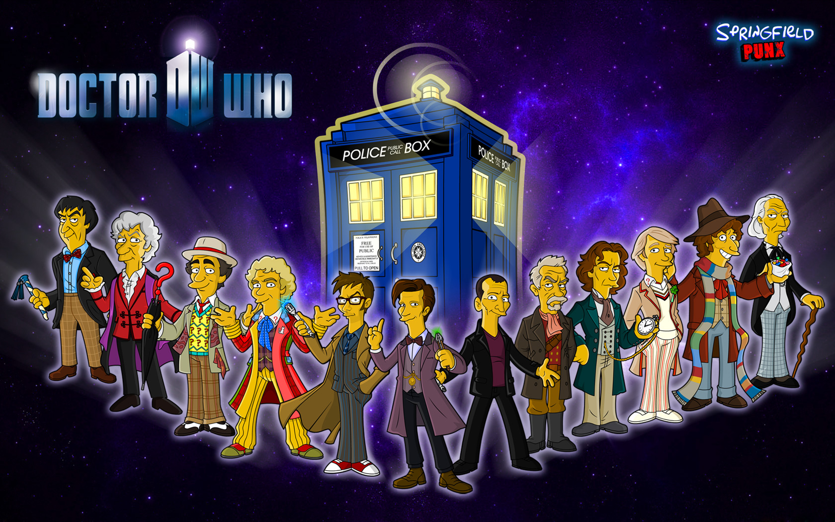 springfield punx new doctor who wallpaper new doctor who wallpaper 1680x1050