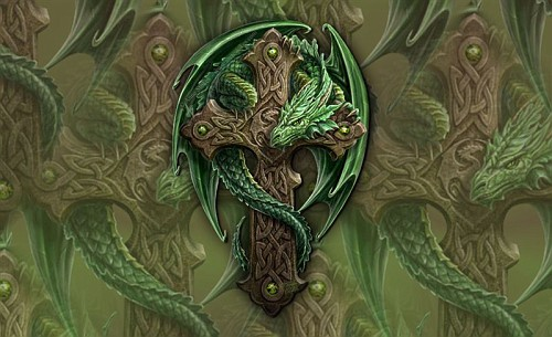 Celtic Fantasy Art Wallpaper