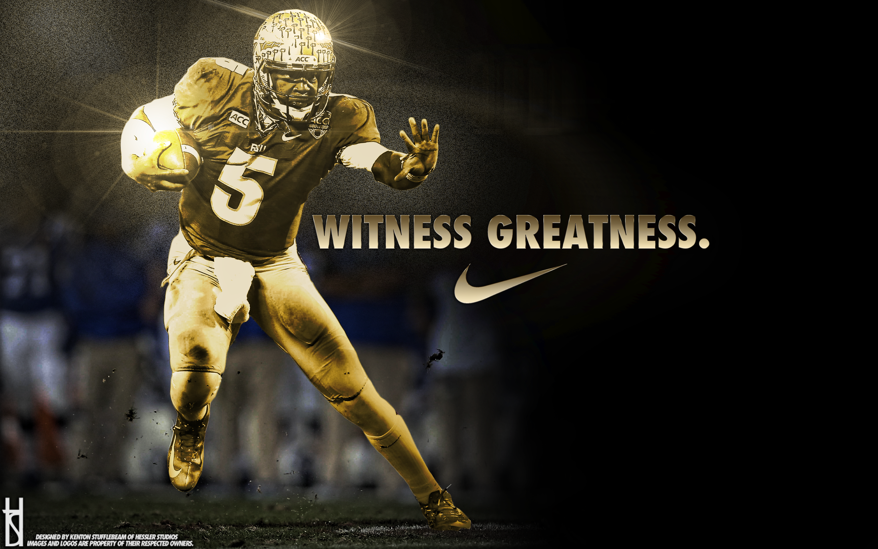 Lebron James We Are All Witnesses Poster Witness greatness   jameis 2880x1800