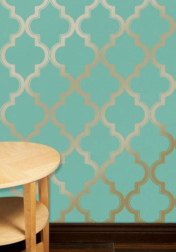 Dorm Room Apartment Decor Chic Removable Wallpaper 350x500