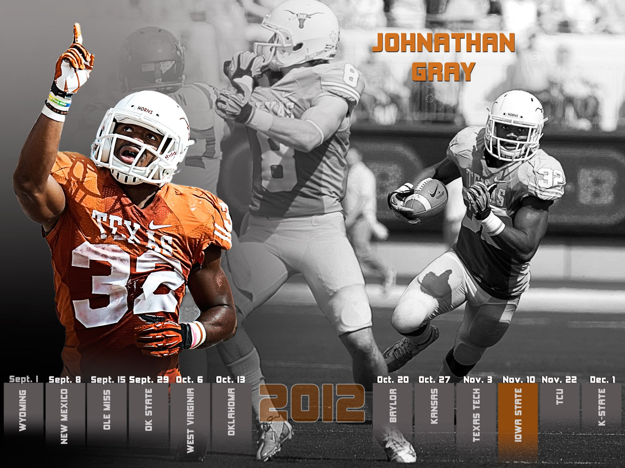 College Football Wallpapers: University Of Texas Football Wallpaper