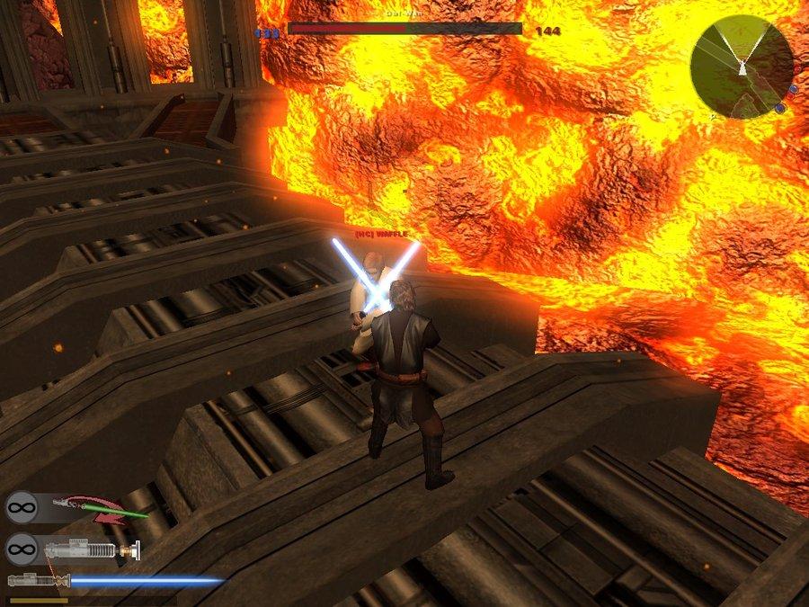 anakin vs obi wan by horrorfan439000 900x675