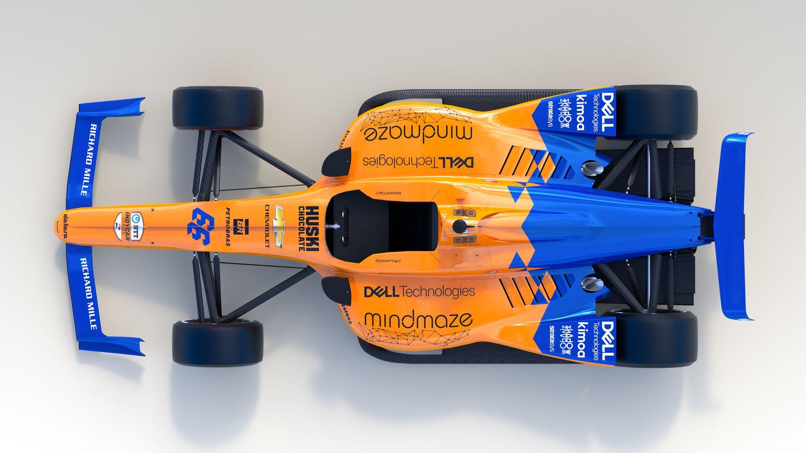 McLaren Racing   McLaren Racing unveils Indy 500 livery 1600x900
