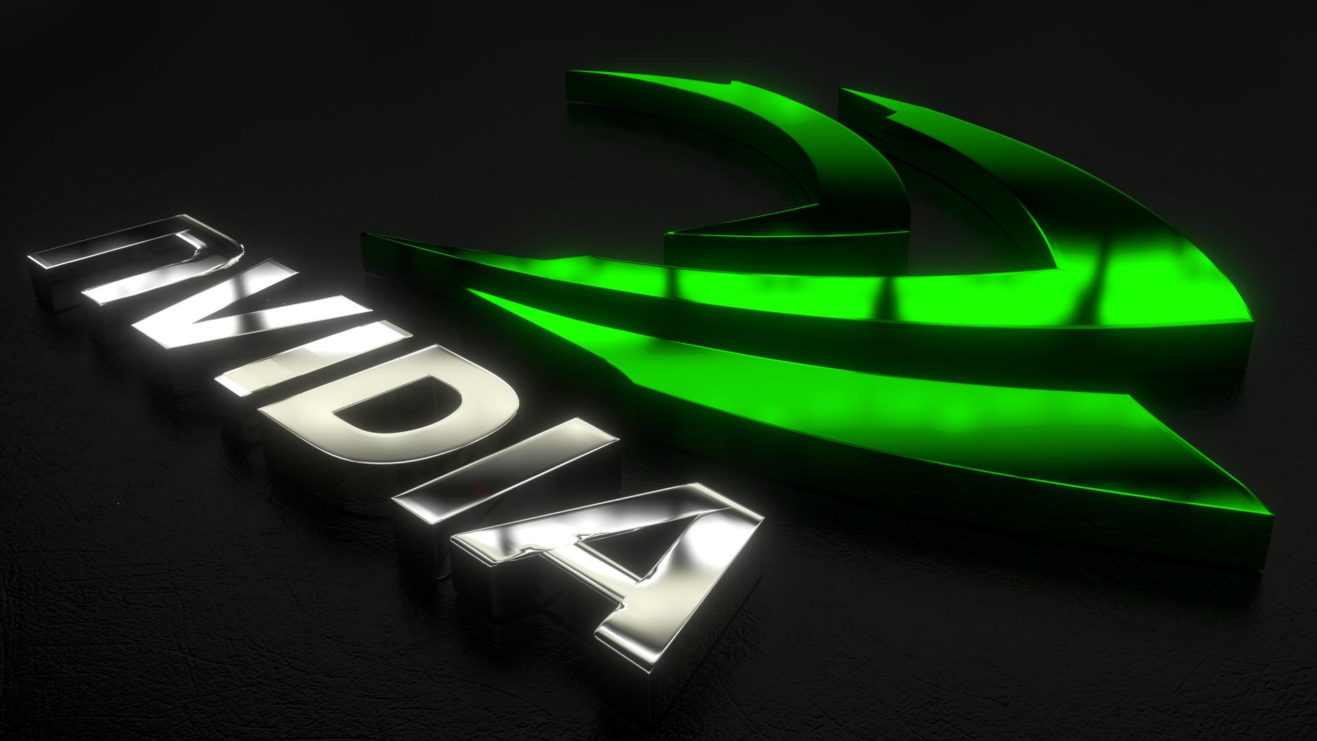 1920x1080 green wallpaper: NVIDIA HD Wallpaper