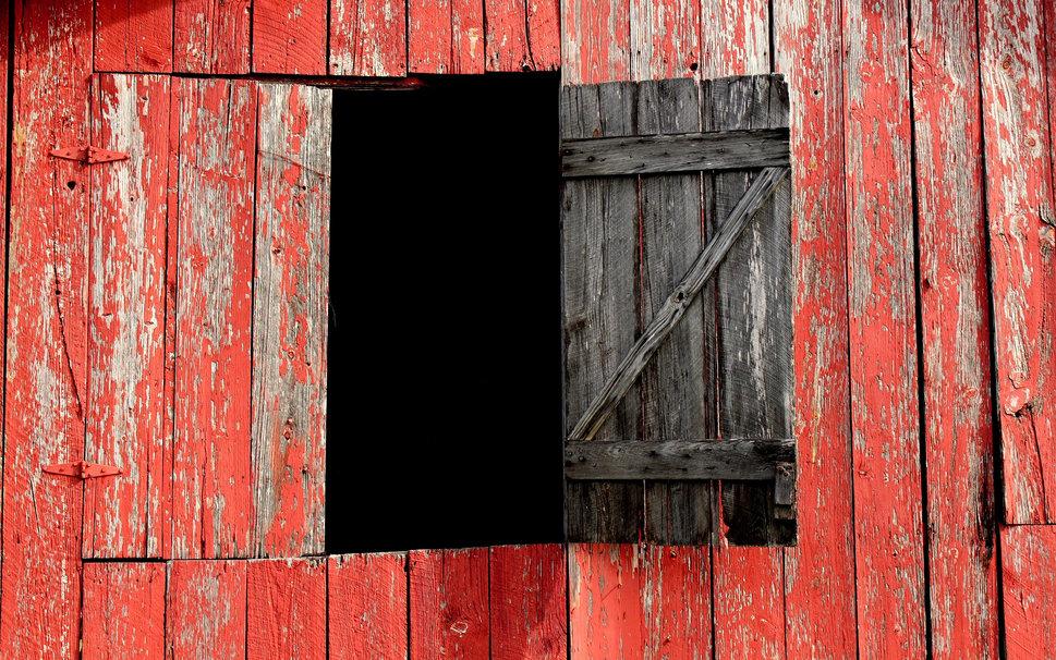 Granero rojo placas ventana fondo de pantalla   ForWallpapercom 969x606