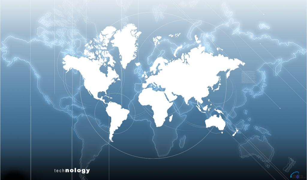 Free Download Download Wallpaper Mapa Mundi 1024 X 600