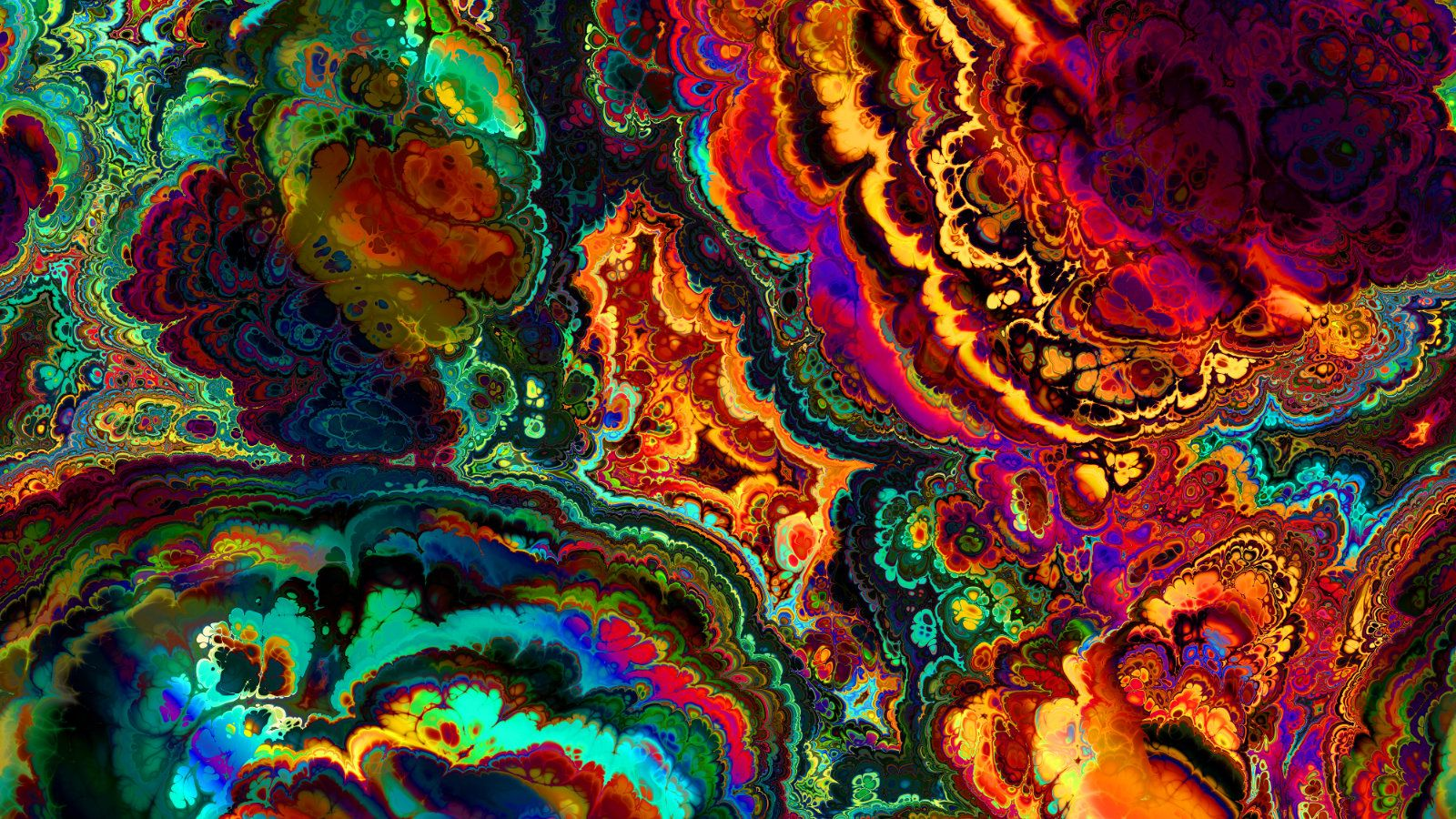 Trippy Stoner Wallpaper 1600x900