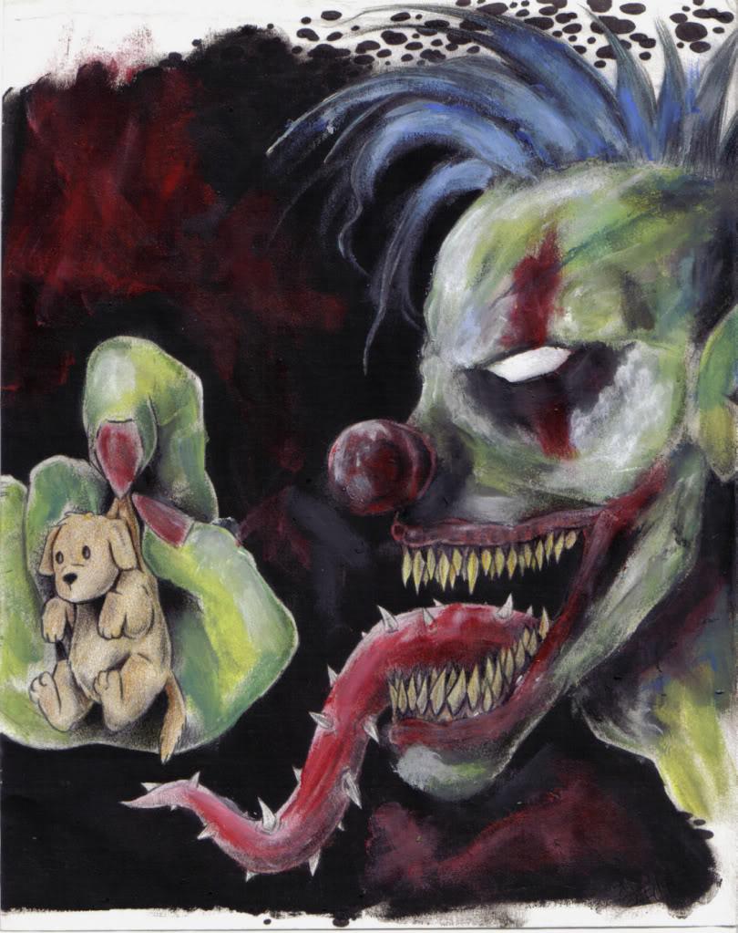 Demon Clown Wallpaper - WallpaperSafari