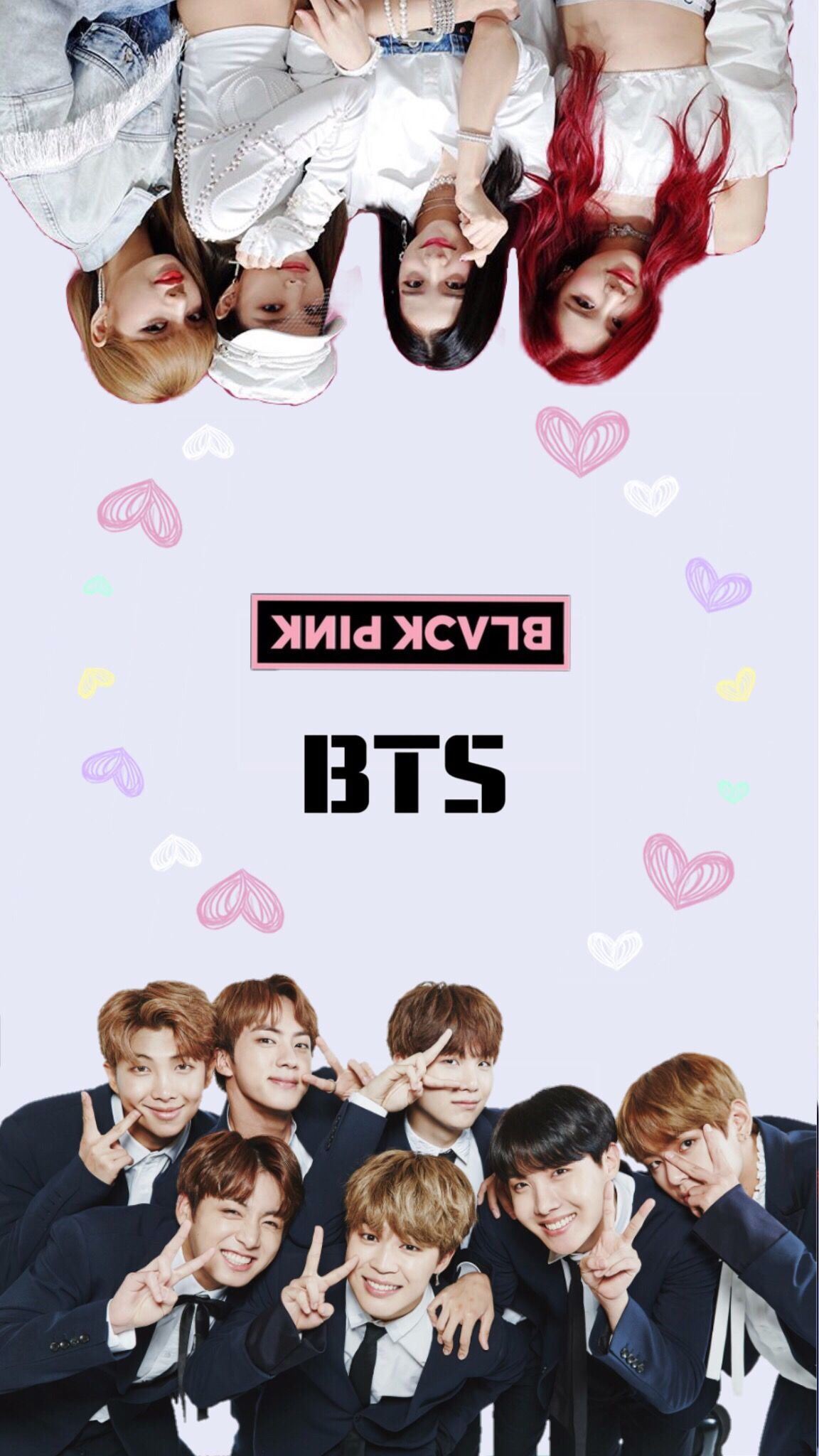 12 Bts And Blackpink Anime Wallpapers On Wallpapersafari