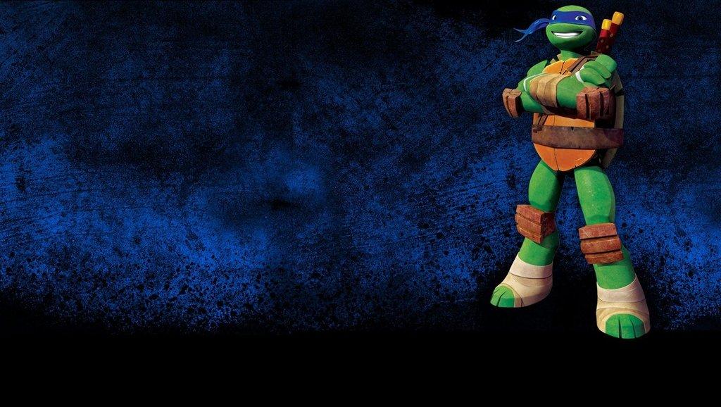Free Download Tmnt 2012 Leonardo The Leader Header By Left4nellis