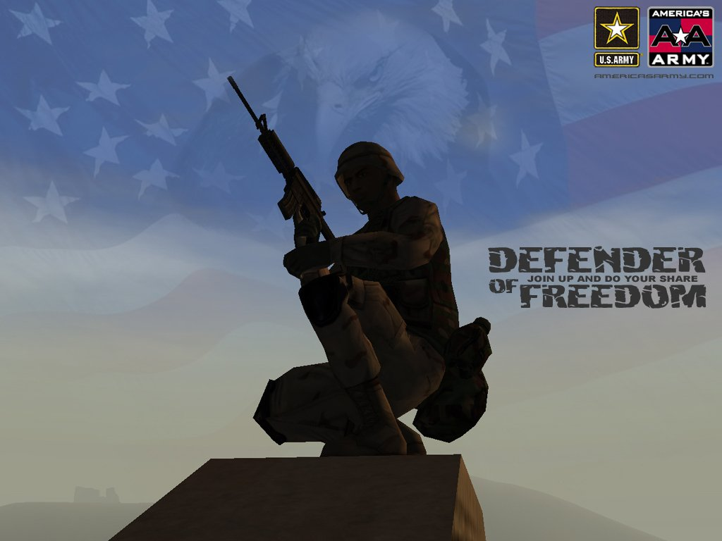 Defend Freedom Wallpaper 1024x768