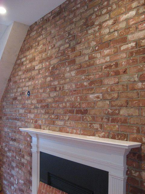 faux brick wall Brick Wallpaper Pinterest 480x640