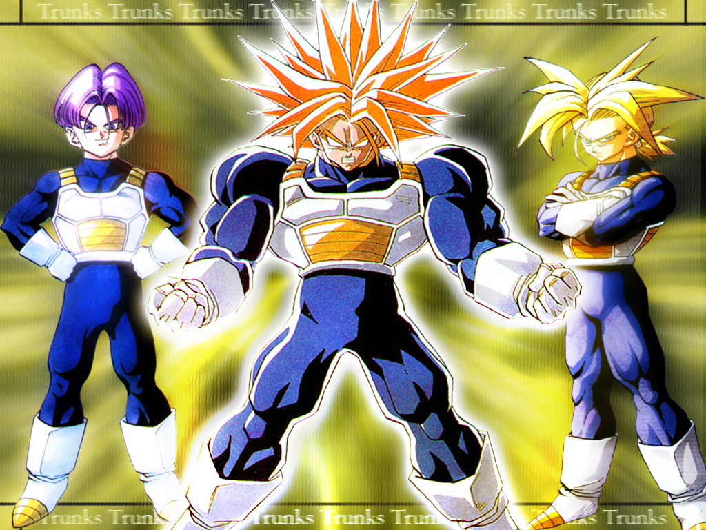 Dragon Ball Z Trunks Wallpaper 1024x768