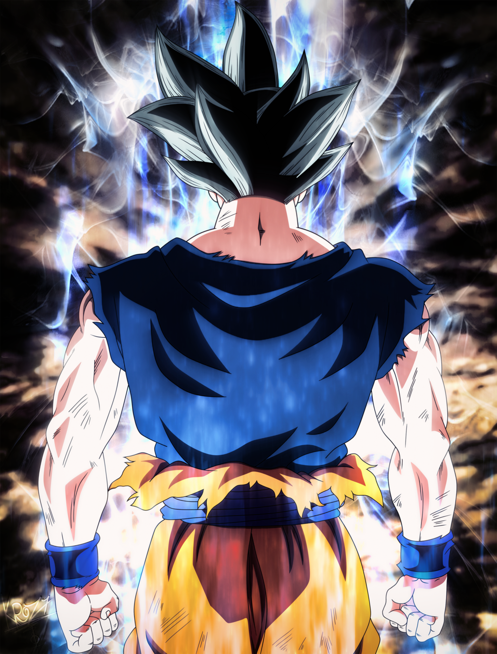 Goku Ultra Instinct Wallpapers 1024x1347