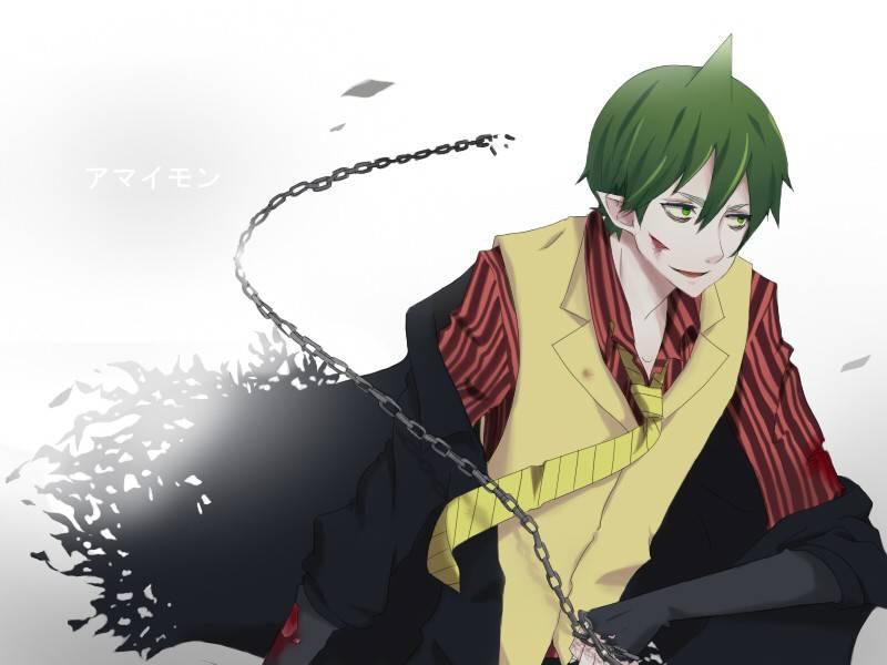 Free Download Green Hair Anime Chains Ao No Exorcist Anime Guy Amaimon Wallpaperjpg 800x600 For Your Desktop Mobile Tablet Explore 50 Amaimon Wallpaper Amaimon Wallpaper