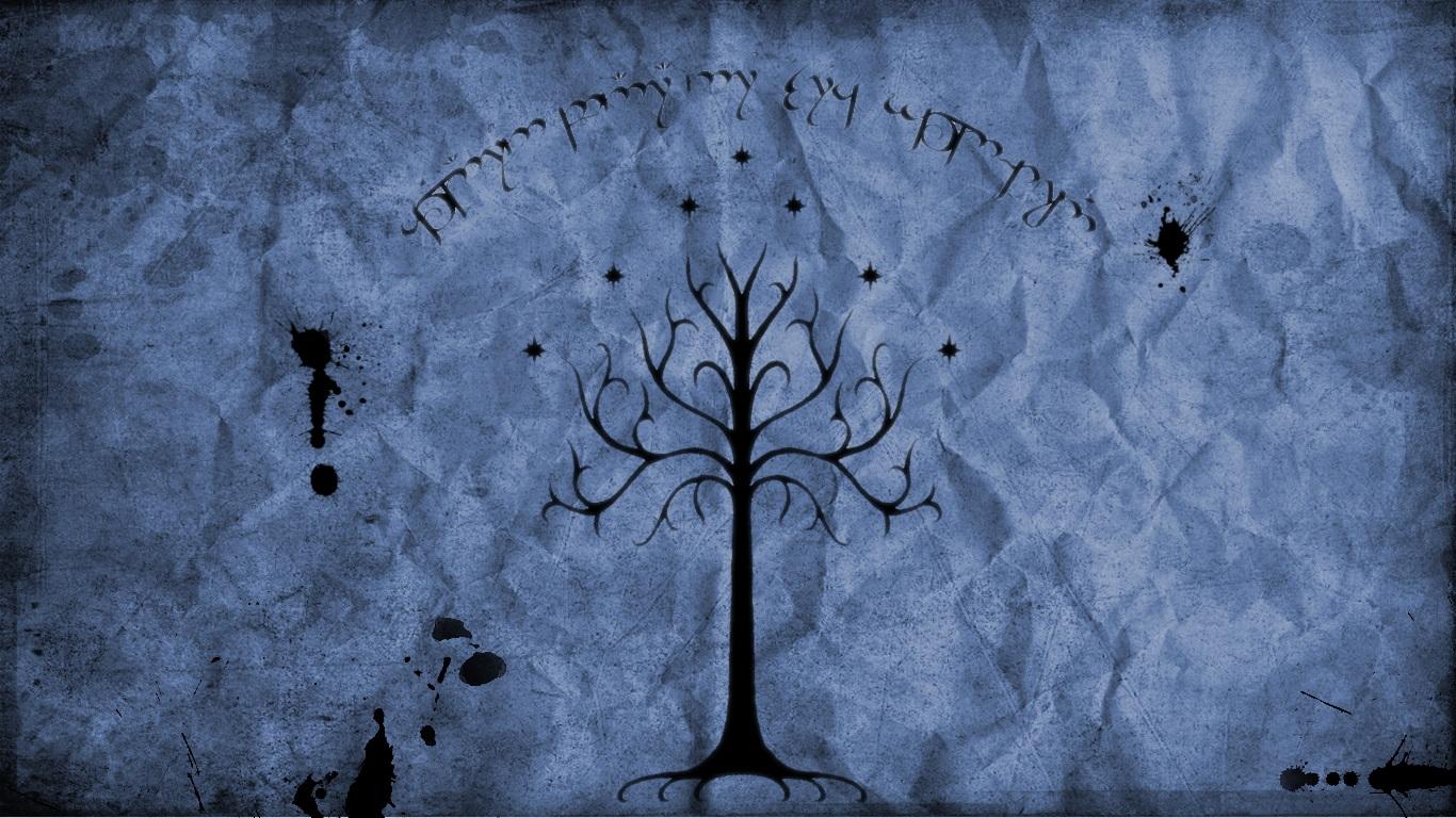 Fantaisie Le Seigneur Des Anneaux Lord Rings Gondor Blanc Arbre Fond d 1366x768