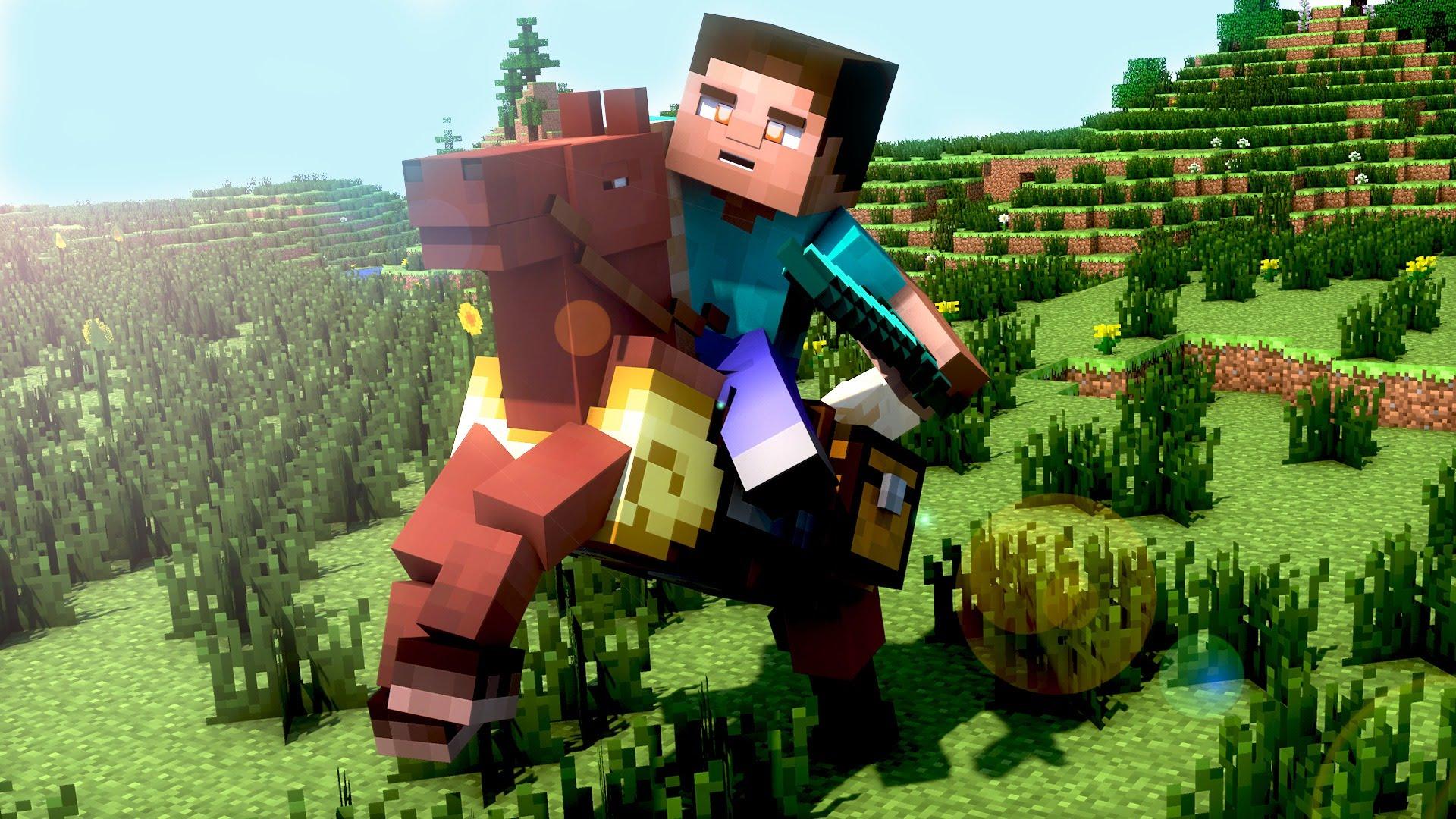 Free Download Crer Un Wallpaper Minecraft Avec Cinema 4d Fr