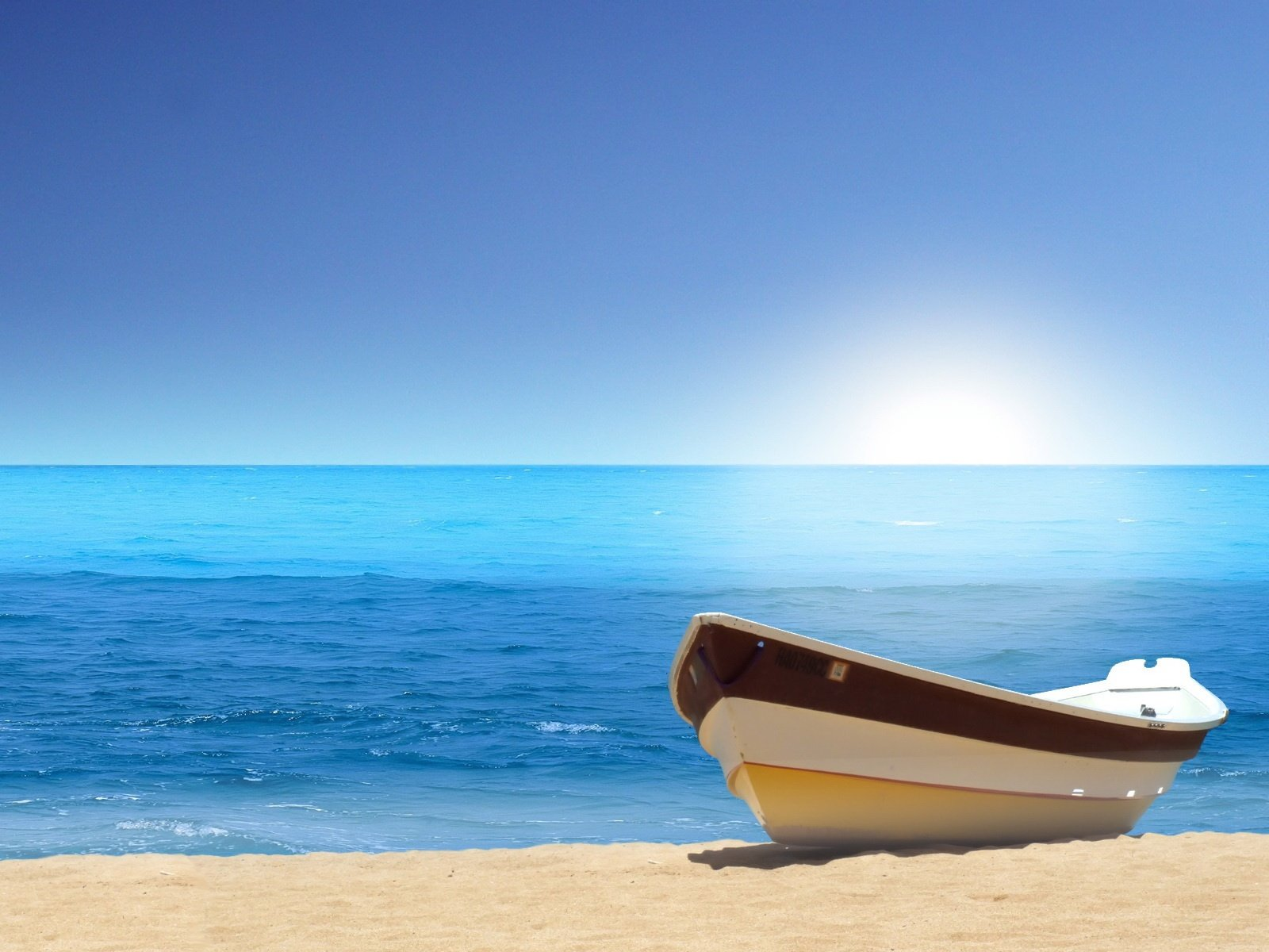 Boat Sea Beach Wallpapers HD Wallpapers 1600x1200