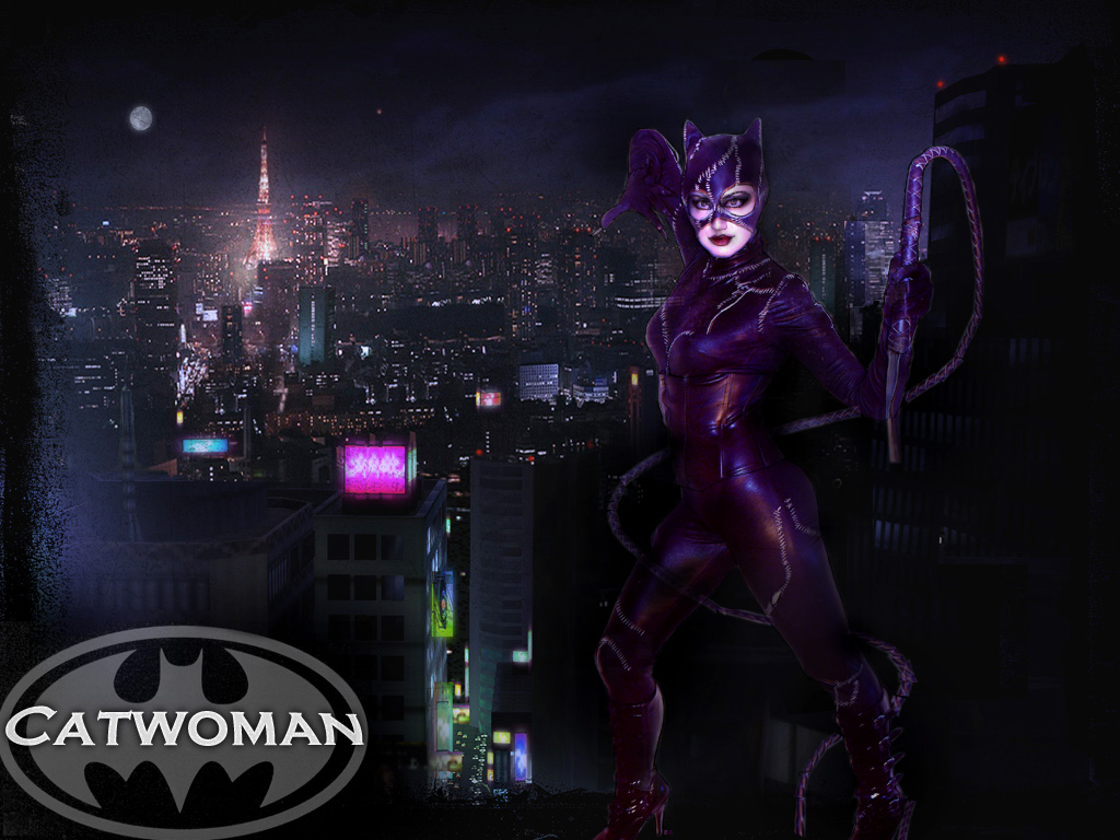 Catwoman Wallpaper by quotidia 1024x768