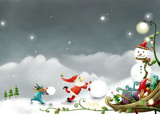 Christmas Wallpapers for PC Desktop HD Wallpapers Backgrounds 560x400