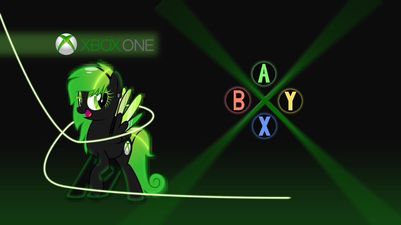 Console ponyXbox One wallpaper by pony3000nerd 1280x720