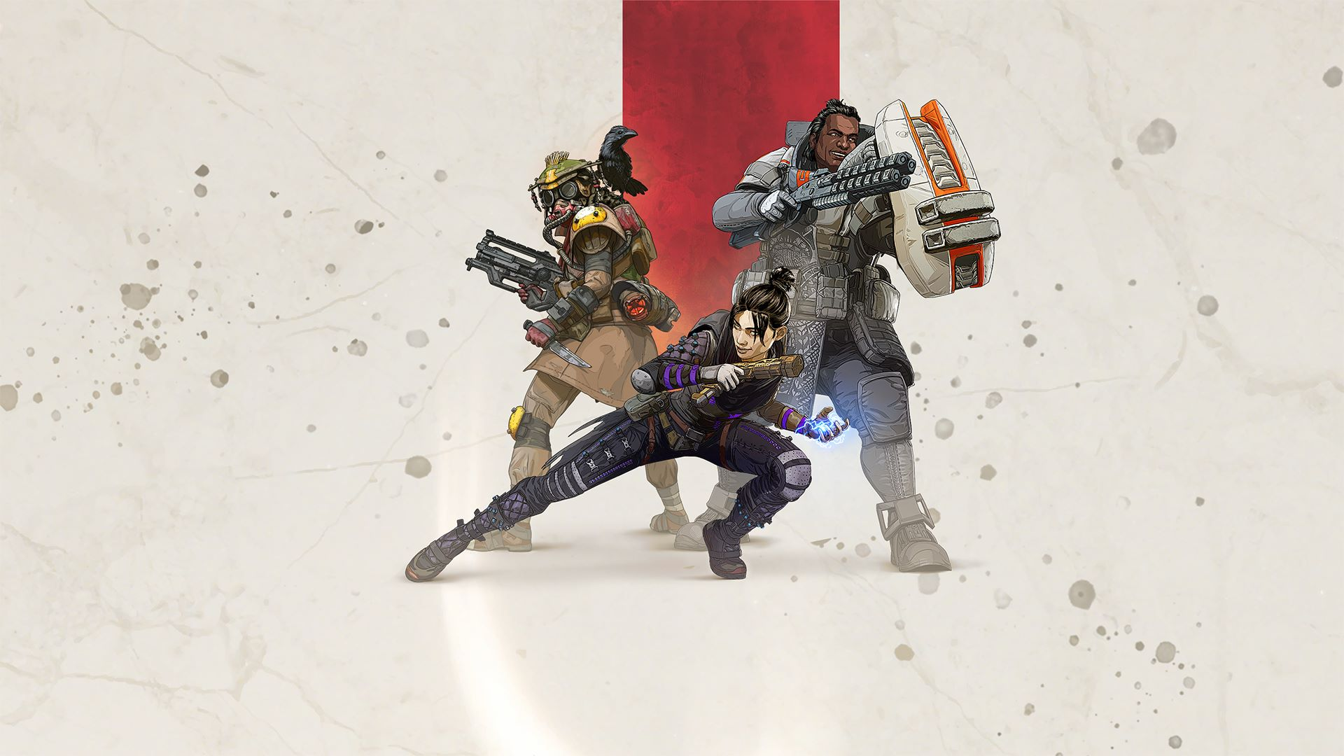 Wallpaper of Apex Legends Video Game Art Poster background HD 1920x1080