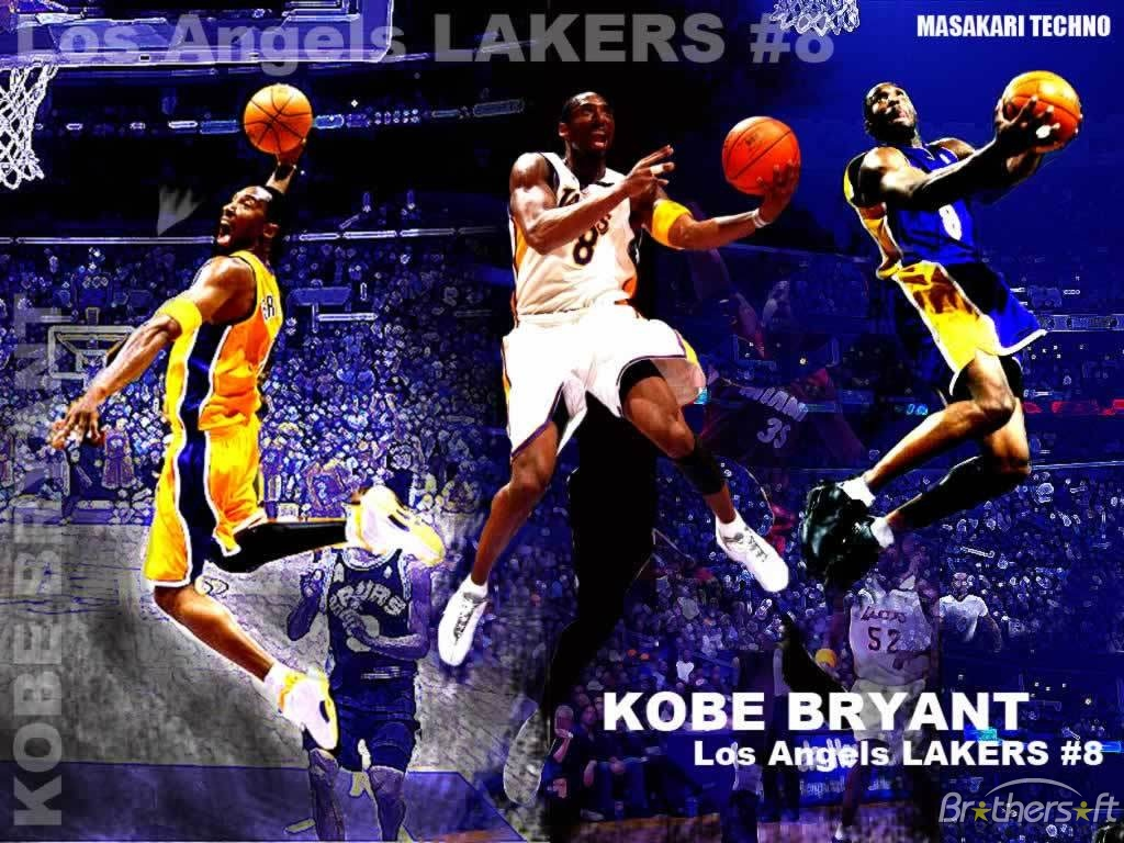 FunMozar Kobe Bryant Wallpaper Dunk 1024x768