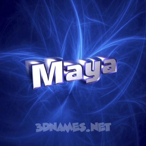 Download Maya Name Wallpaper Gallery