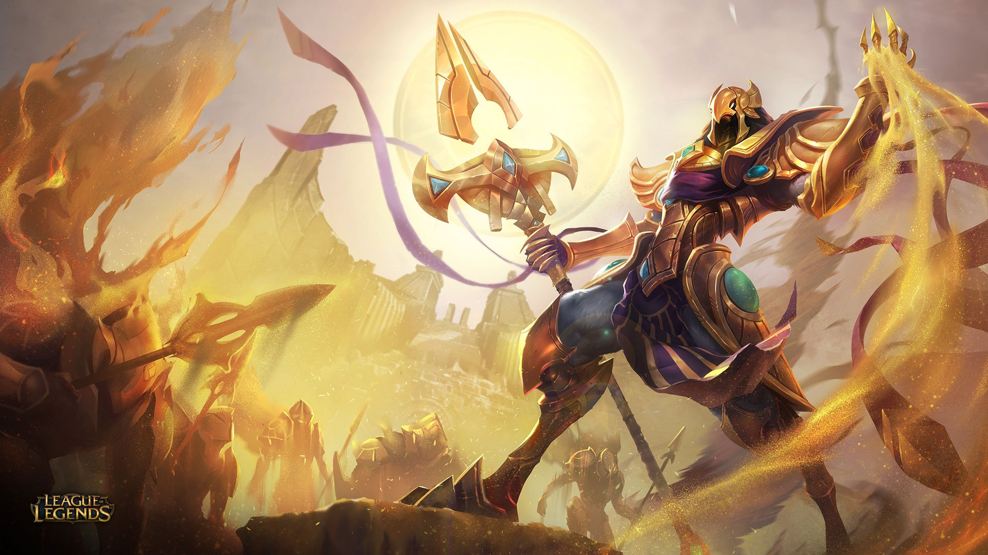 Azir the Emperor of the Sands Revealed League of Legends 1920x1080
