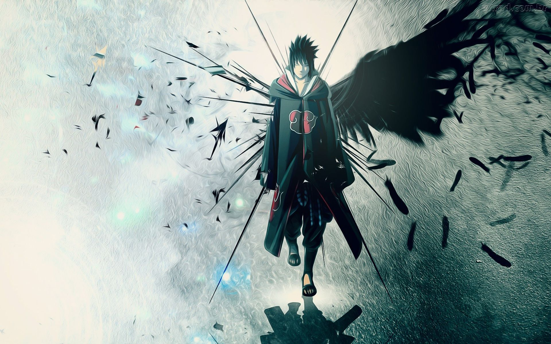 Uchiha Sasuke Wallpaper Background Wallpaper with 1920x1200 Resolution 1920x1200