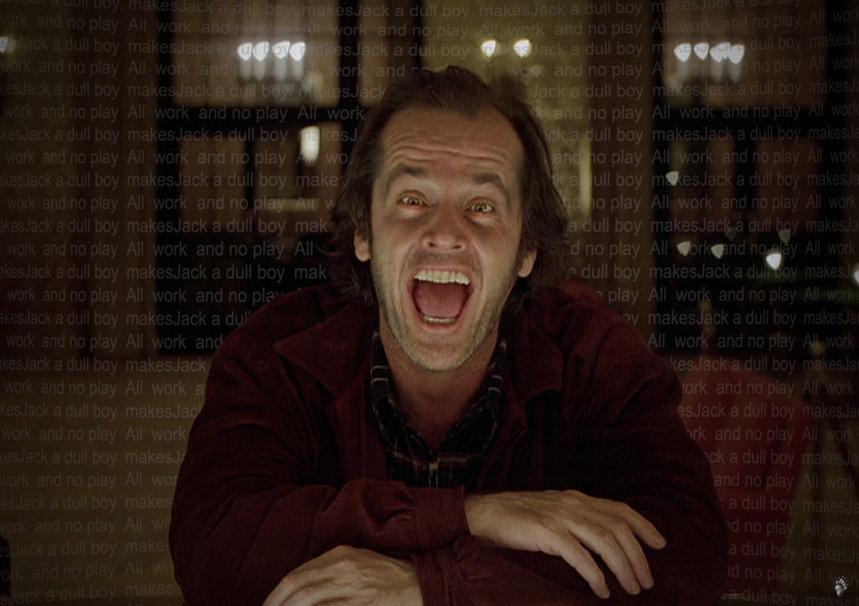 Shining Jack Nicholson wallpaper   ForWallpapercom 859x606