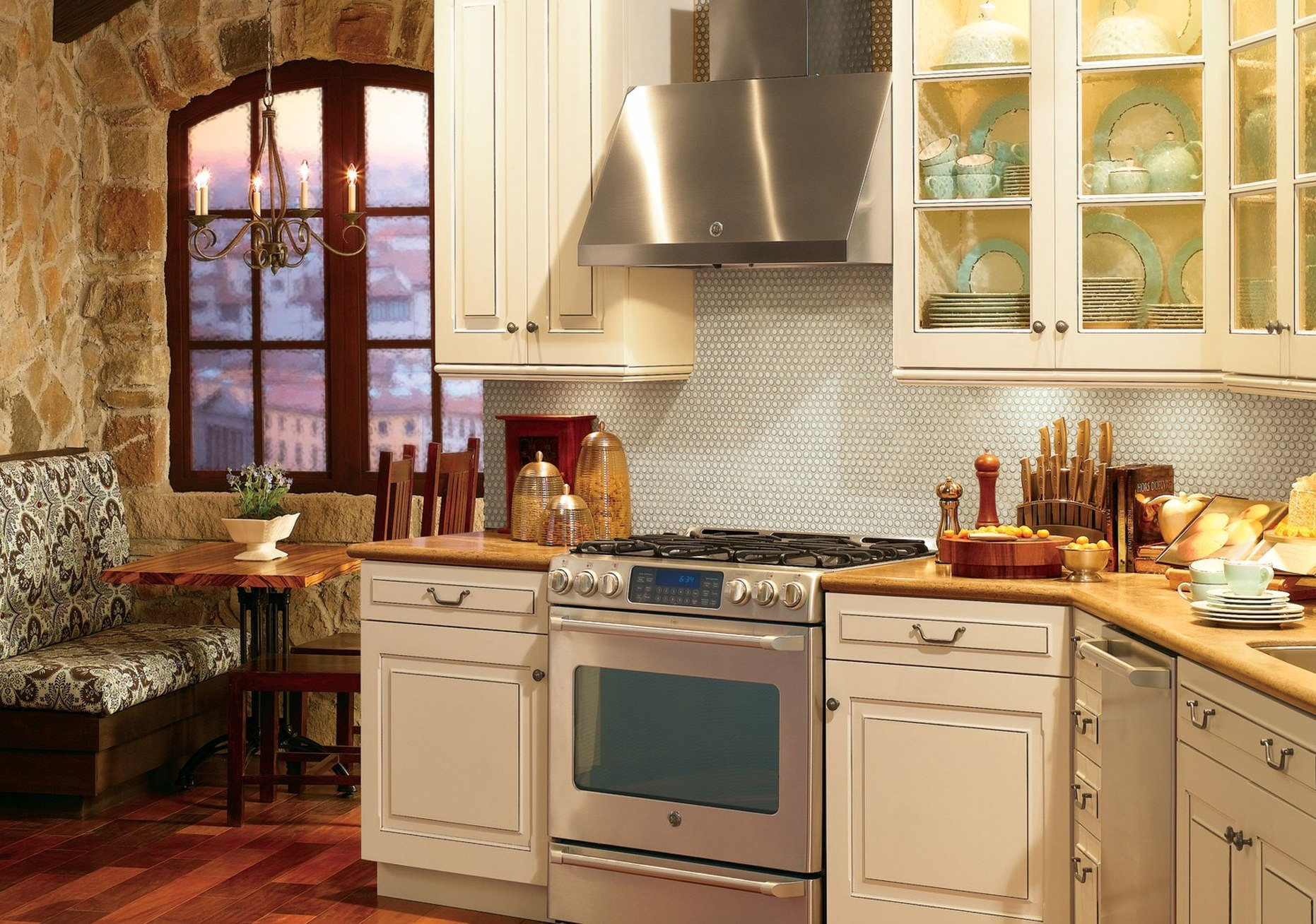 tuscan look wallpaper wallpapersafari. Black Bedroom Furniture Sets. Home Design Ideas