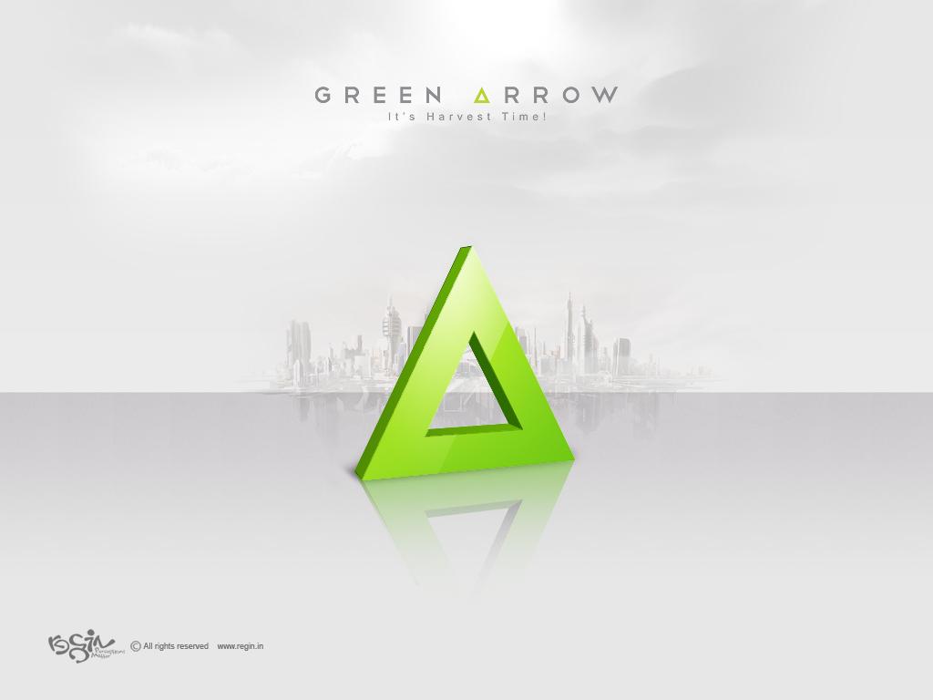 1024x768 Green Arrow desktop PC and Mac wallpaper 1024x768