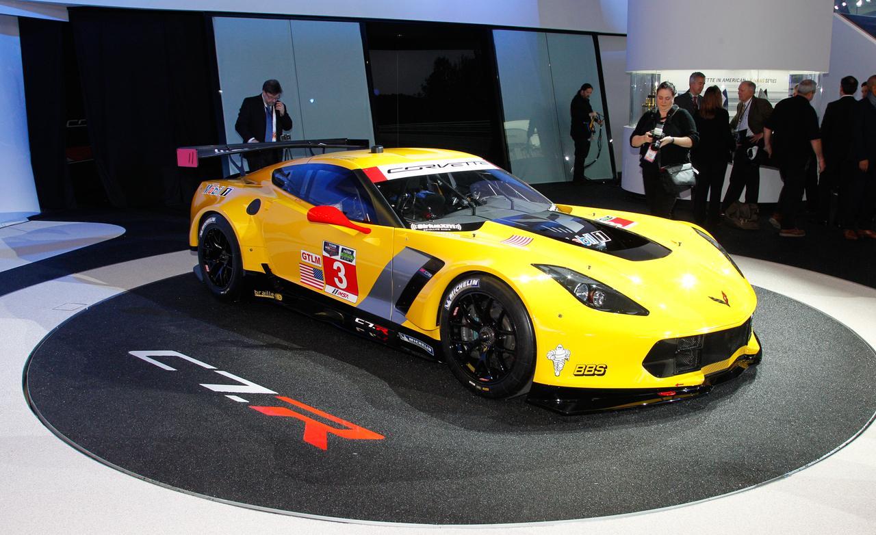 Corvette C7R race car photo 1280x782