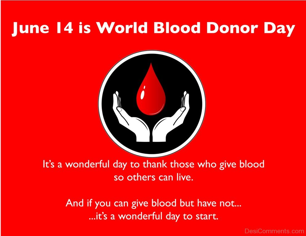 30 World Blood Donor Day Pictures Images Photos 994x768
