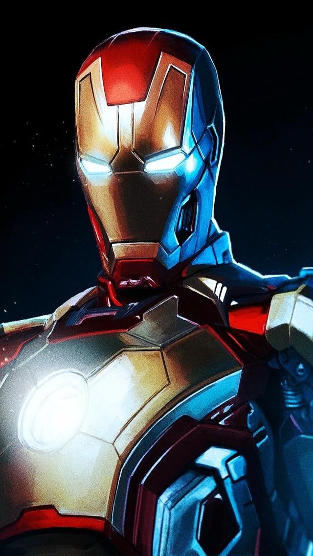 Iron Man 3 Wallpaper   iPhone Wallpapers 640x1136