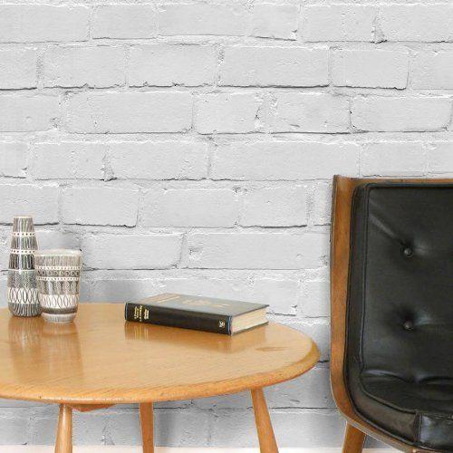 In White Grey Tones Full Roll by wallpaper heaven httpwwwamazon 500x500